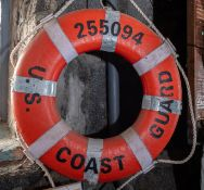 "Throw Ring Floatation Device ""Coast Guard US 255094"""
