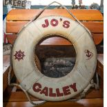 "Throw Ring Floatation Device ""Jo's Galley"""