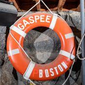 "Throw Ring Floatation Device ""Gaspee Boston"" 30"""