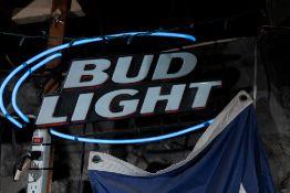 "Bud Light Neon Sign 30"" x15"""