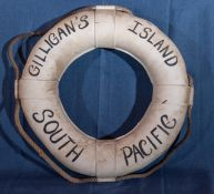 """Throw Ring Floatation Device """"Gilligan's Island South Pacific"""" 23"""""""