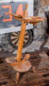 """All Wood Anchor Ashtray Stand 32""""H"""