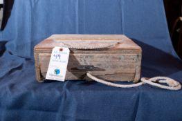 "Wood Bait Box 15""x14""x6"""