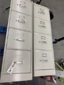 (2) 4 Draw File cabs.