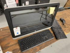 "HP #22-3120 All In One PC 22"" Touch Screen PC w/ Wireless & Wired Keyboard & Wired Mouse"