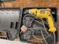 DeWalt Corded Drill w/ Case