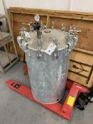 60 Gal. 110 PSI Alum Pressure Tank w/ Gauge