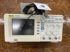 Rigol #DS1052E Oscilloscope, 50 Mhz, Serial #: DS1ED132809496