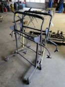 (2) Portable Auto Body Paint Stands