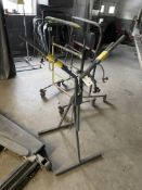 Folding V Shaped Auto Body Paint Stand
