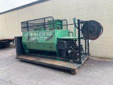 Reinco Hydro Seeder #HG10EG SN: 1342 w/ Wisconsin #WA1770 Gas Engine (Mounted On Roll Off)
