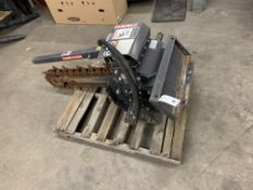 2014 Bradco Paladin #615 Trencher Skid Steer Attachment