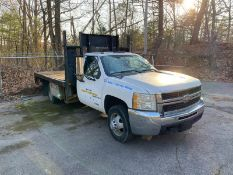 2008 Chevy #3500 HD 6-Wheel Diesel 14' Wood Deck Flatbed Stake Body w/Liftgate, Automatic SEE DESC