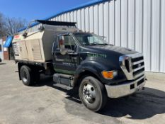COMBINATION OFFERING OF LOTS 1 & 1A AS A PACKAGE - 2006 Ford F650 & Finn Bark Blower - Whichever way