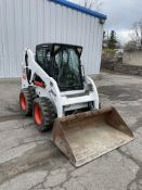 "Bobcat S185 Rubber Tired Skid Steer, 961 Hours, Heat/AC, Windshield, Good Glass Machine Runs, 68""Buc"