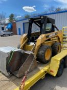 John Deere #7775 Rubber Tired Skid Steer w/8' Bucket, PIN: M07775X010212 Machine Runs (More Info to