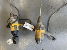 (2) DeWalt Variable Speed Drill