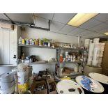 """(4) Section Of 77""""W 70""""H 18"""" D Metal Frame Shelving (NO CONTENTS)"""
