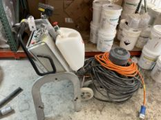 """Lavina Grinder #25X, #1806L25X0752, Horse Collar Weight, 25"""" Working width, 10Hp, 200-240V Single"""