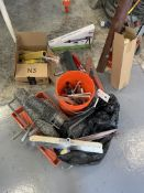 (Lot) Asst. Trowels, Squeegee, Rollers, Etc. (NEW and USED)