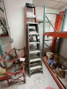 (3) Step Ladders 6', 6', and 8'