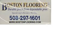 The name Boston Flooring & Contracting, Inc., phone number, email, domain name SEE DESCRIPTION