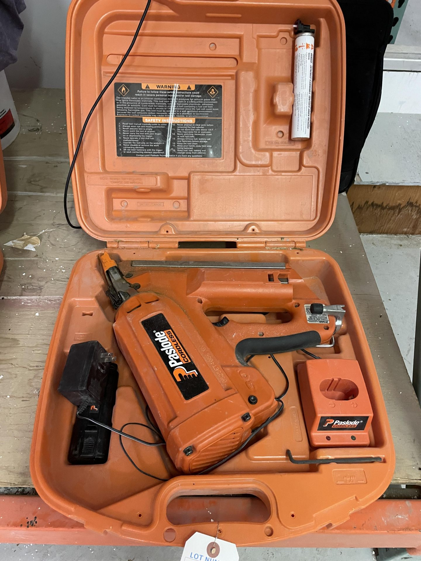 Pasload Cordless 30 degree Framing Nailer