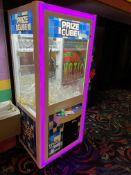 Coast to Coast Entertainment Prize Cube Crane Machine Illuminated, Token Operated