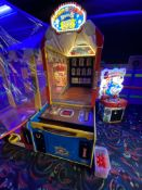 Innovative Concepts Entertainment Down The Clown Game, #BL1000X S/N: BLY15#3543 Coin Operated w/