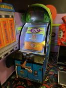 Baytek Games Big Bass Wheel Pro Illuminated Arcade Game, Bill & Token Operated w/Ticket Dispenser