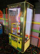 Benchmark Games Claw Trap Door Game, Token, Coins & Bills Machine