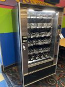 National Amusements Snacktron #145, Illuminated, 45 Chute Spiral Dispensing Vending Machine, Coin