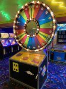 Skeeball Amusement Games Spin N Win #N1H8AABET2 Token Operated Ticket Dispensing Game