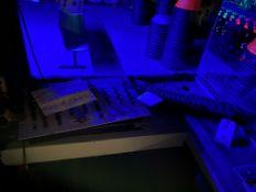 {LOT} Chauvet DJ Obey 10 Chase Controller, Radio Shack SSM1550 4 Channel Sound Mixer, Yamaha #