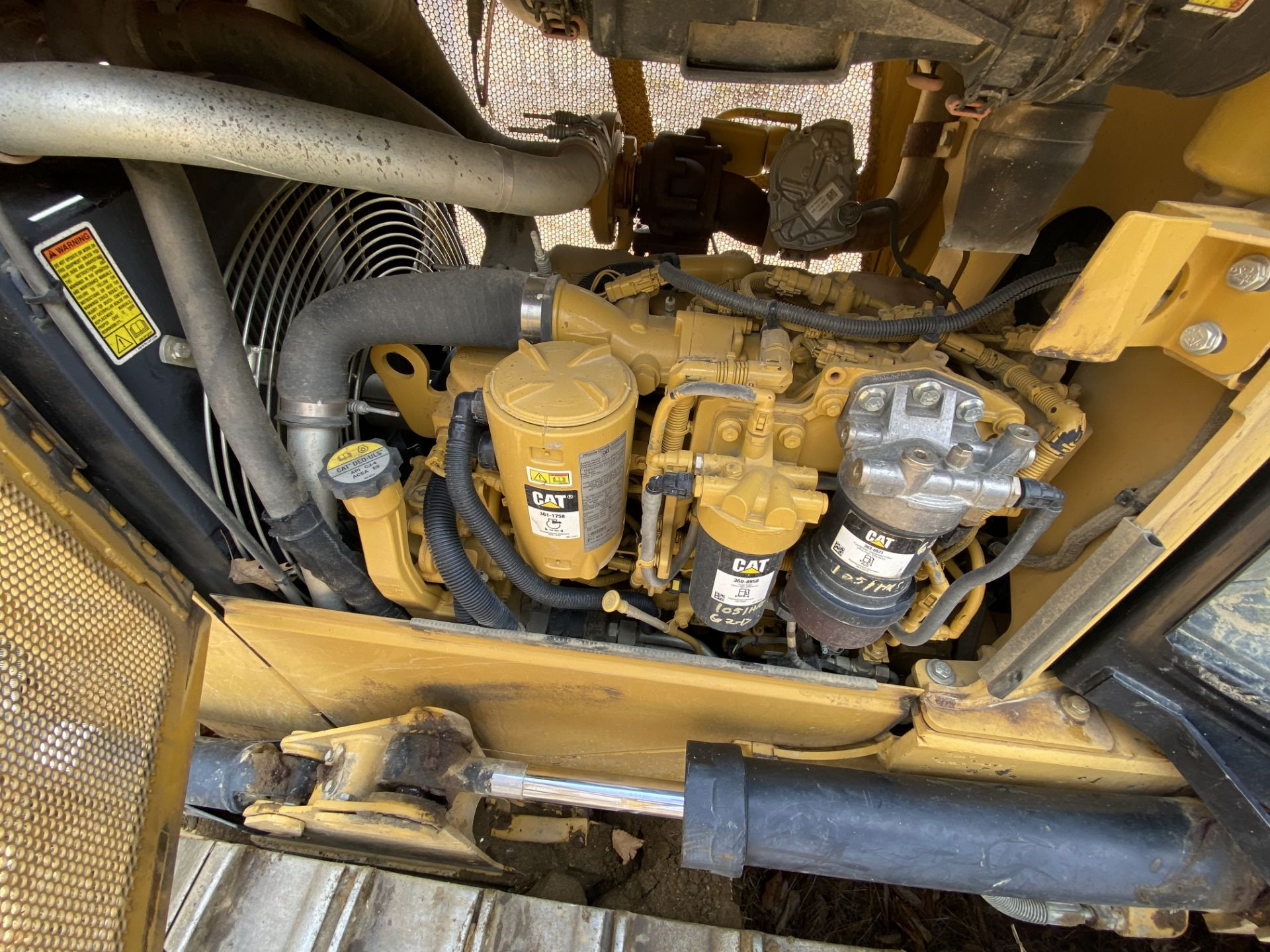 2014 Caterpillar Track Dozer #D3K2XL w/ 8' Plow, CAT 4.4 ACE RT Diesel Engine, HRS: 1926, PIN#: - Image 8 of 9