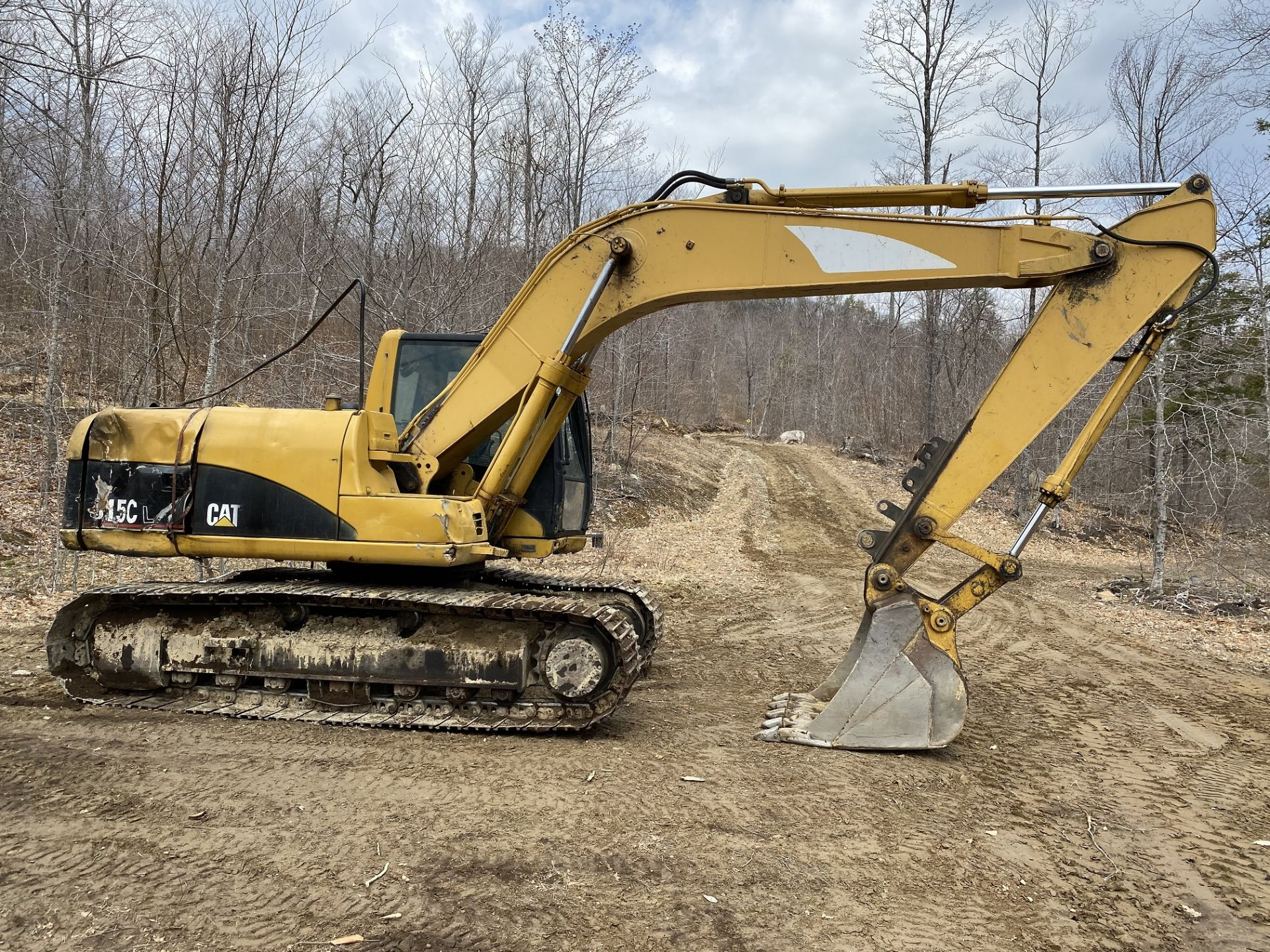 Caterpillar Excavator 315CL 1YD Bucket Stationary w/Thumb, Hrs: 8,003, 3YR Old Swing Motor Bushings, - Image 3 of 10