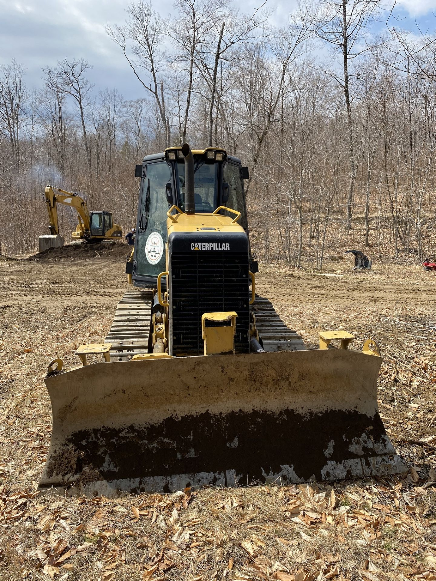 2014 Caterpillar Track Dozer #D3K2XL w/ 8' Plow, CAT 4.4 ACE RT Diesel Engine, HRS: 1926, PIN#: - Image 3 of 9