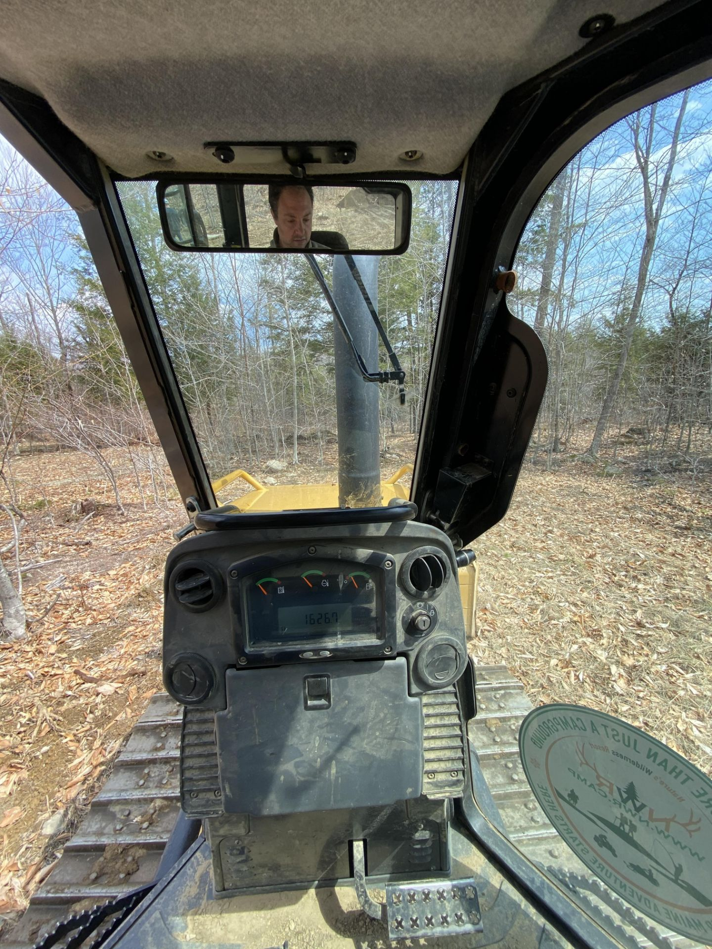 2014 Caterpillar Track Dozer #D3K2XL w/ 8' Plow, CAT 4.4 ACE RT Diesel Engine, HRS: 1926, PIN#: - Image 6 of 9