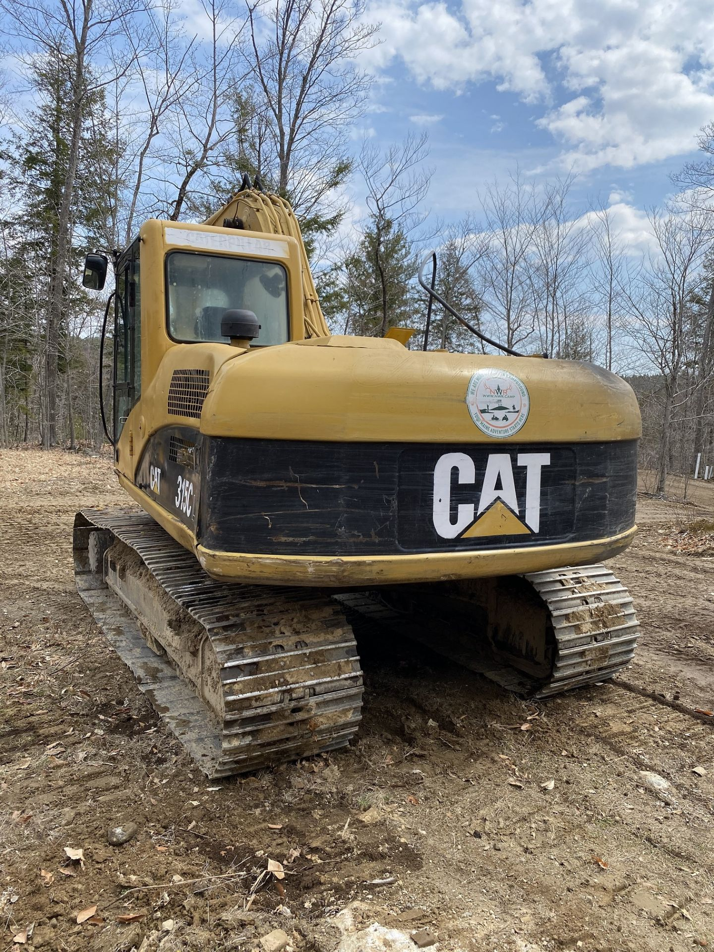 Caterpillar Excavator 315CL 1YD Bucket Stationary w/Thumb, Hrs: 8,003, 3YR Old Swing Motor Bushings, - Image 5 of 10