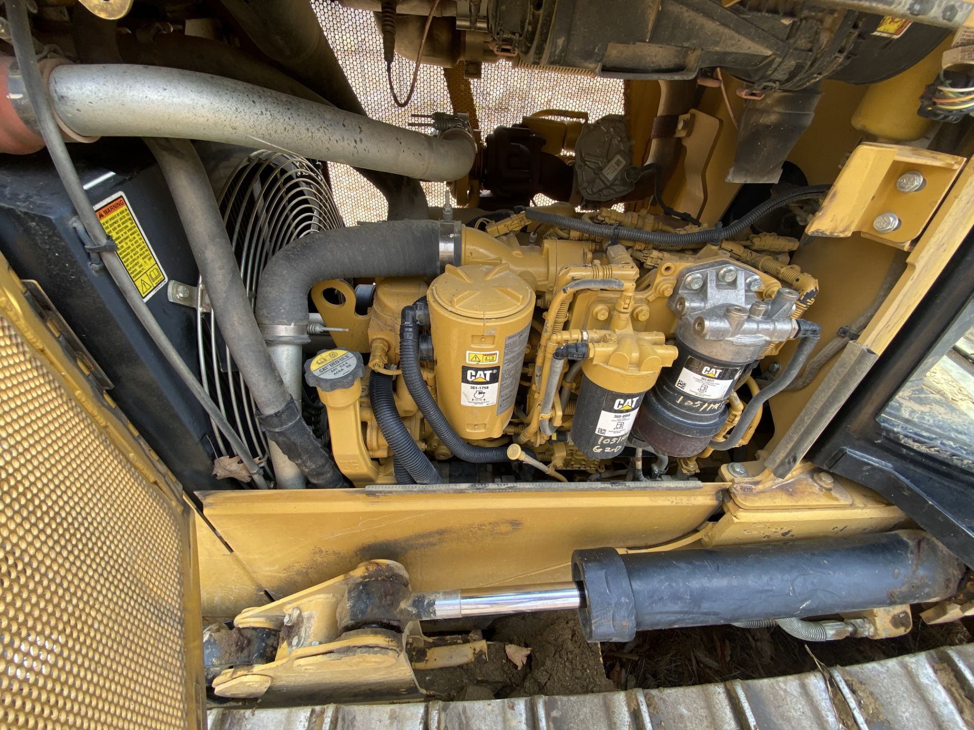 2014 Caterpillar Track Dozer #D3K2XL w/ 8' Plow, CAT 4.4 ACE RT Diesel Engine, HRS: 1926, PIN#: - Image 9 of 9