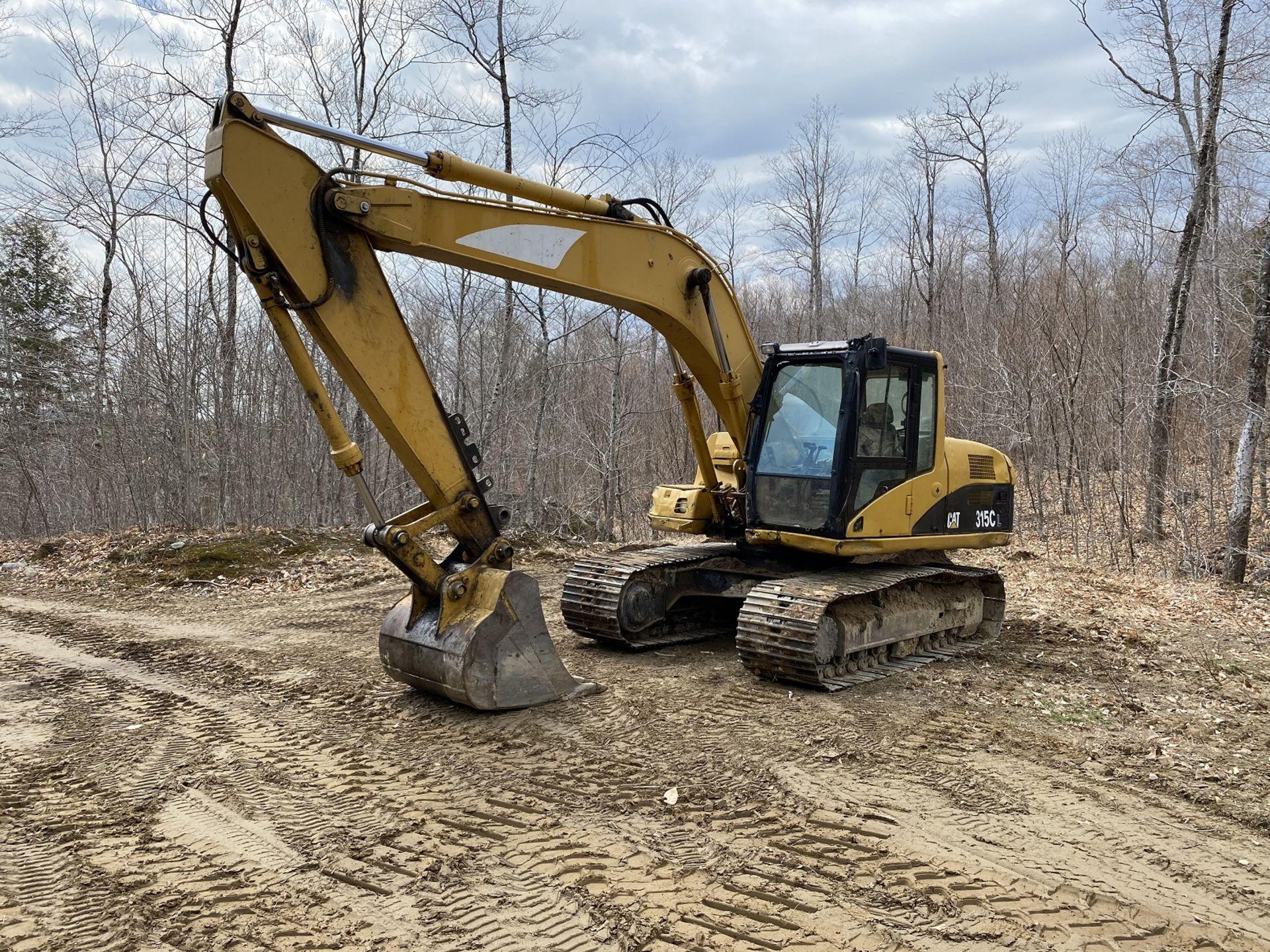 Caterpillar Excavator 315CL 1YD Bucket Stationary w/Thumb, Hrs: 8,003, 3YR Old Swing Motor Bushings,
