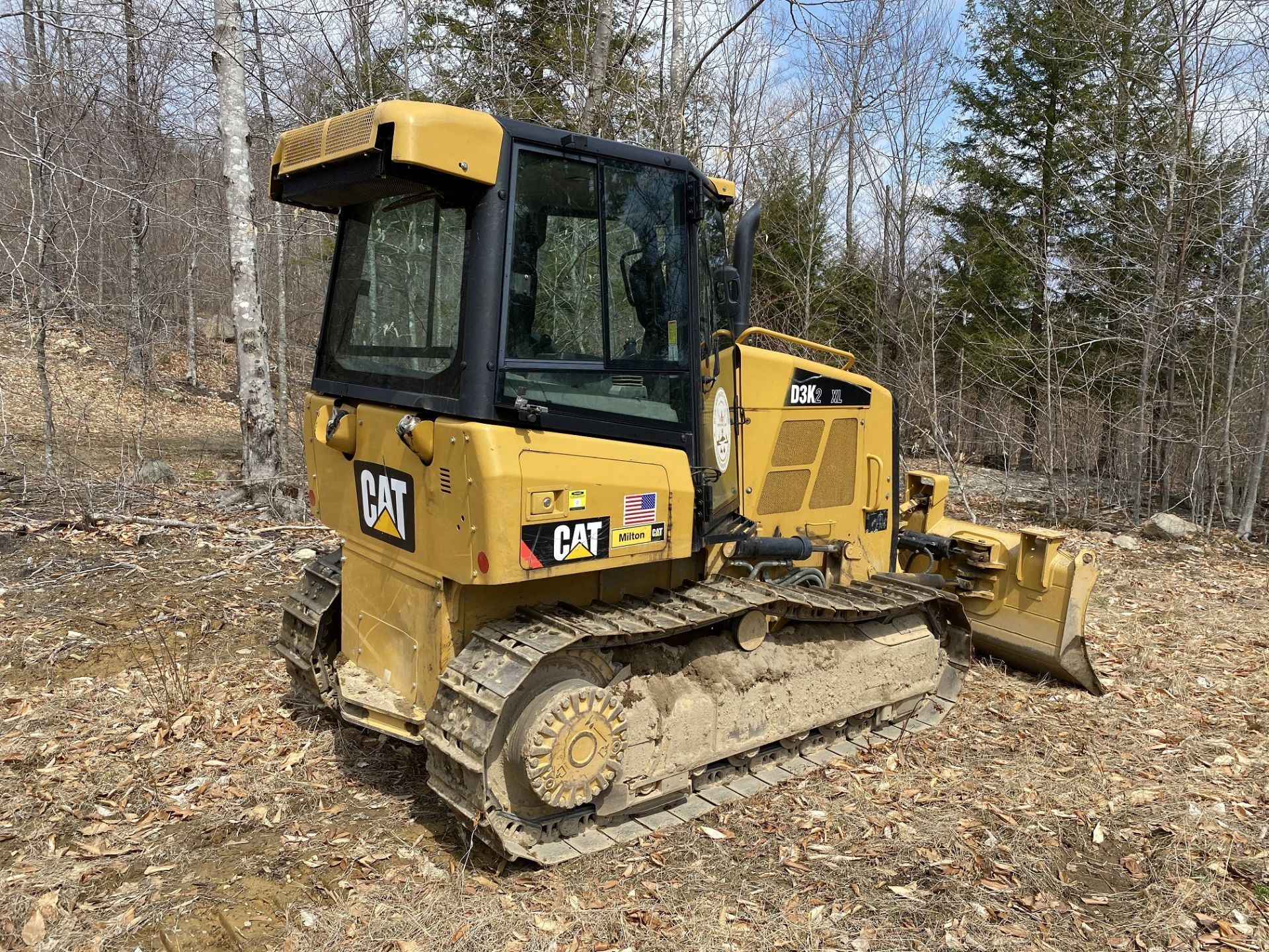 2014 Caterpillar Track Dozer #D3K2XL w/ 8' Plow, CAT 4.4 ACE RT Diesel Engine, HRS: 1926, PIN#: - Image 2 of 9