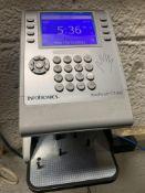 Infotronics Hand Punch #GT400 Time Clock w/Hand/Fingerprint Scanner