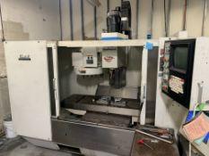 "Fadal VMC 4020 #906-1 CNC Machining Center, 15,000 RPM, 22 Tool Holder Station, 71"" x 20"" Table,"