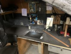 Final Inspection Blacklight Station c/o: Tornado Fan, Labinbo Big Beam #UVLED Inspection Light &