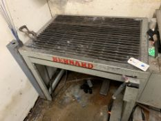 "Bernard Approx. 3' x 30"" Steel Welding Table with Base"