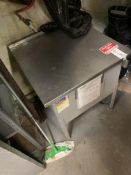 Sherwin Stainless Corrosives Cabinet
