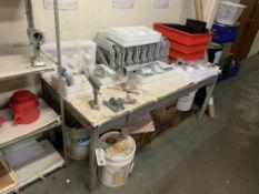 (2) Asst. Steel Base Tables