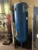 Upright Air Storage Tank (NO INFO AVAILABLE)