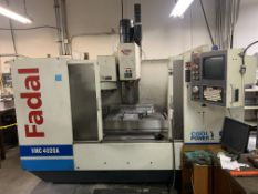 """2001 Fadal VMC #4020A 917-1 CNC Machine, 10,000RPM Water Cooled, Table Size Approx.: 46""""L x 20""""W,"""